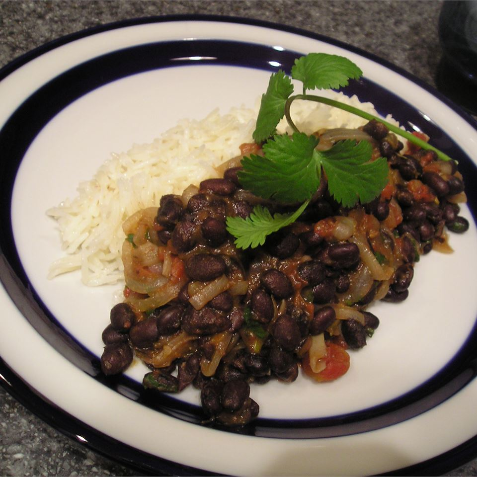 Robin's Sweet and Spicy Black Beans gapch1026