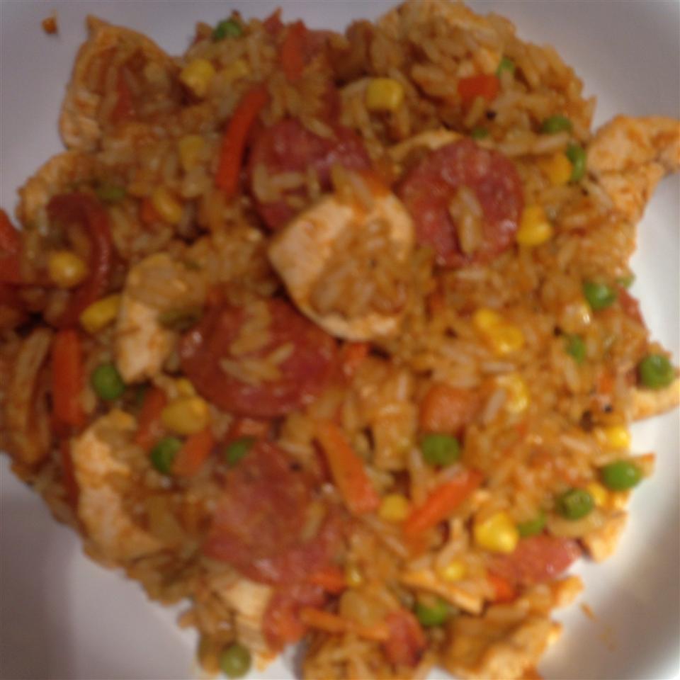 Quick Chicken Paella