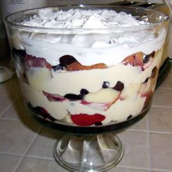 Berry Trifle