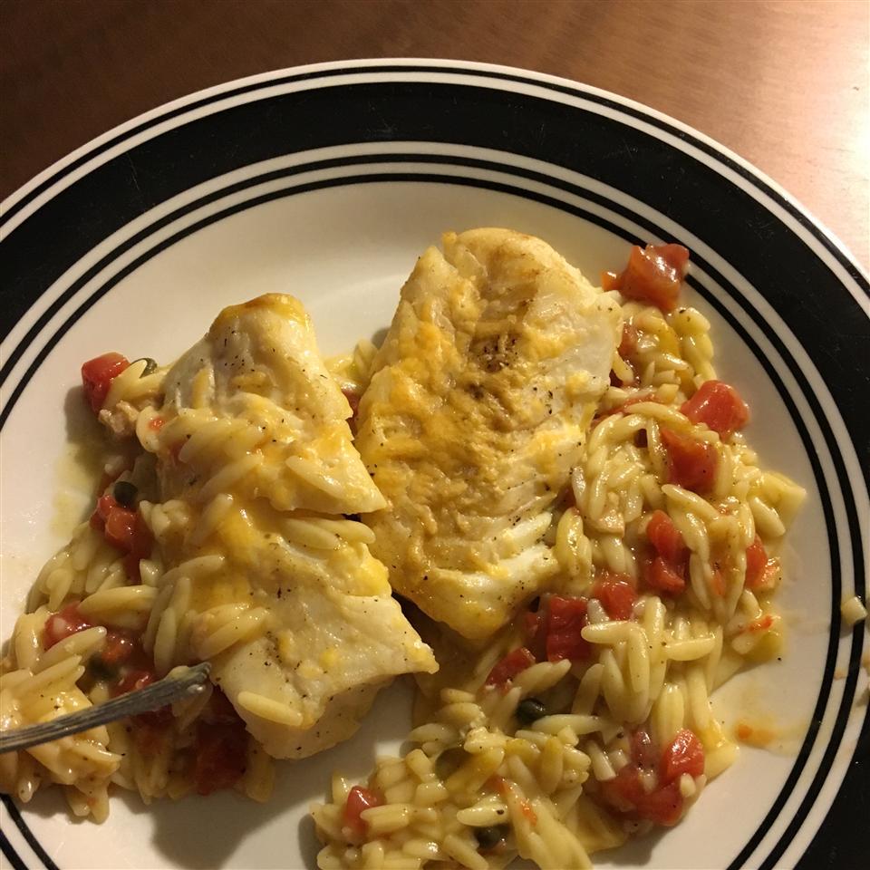 Savory Baked Cod