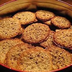 chocolate lace sandwich cookies recipe
