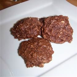 Brownie Oat Cookies chocolatekisses