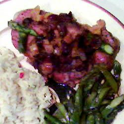 Cranberry Pork Chops I
