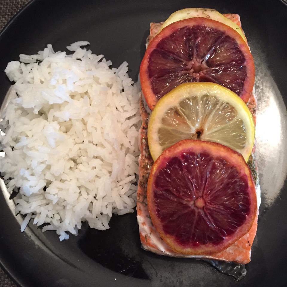 Citrus Salmon in Parchment KimcheeMomma