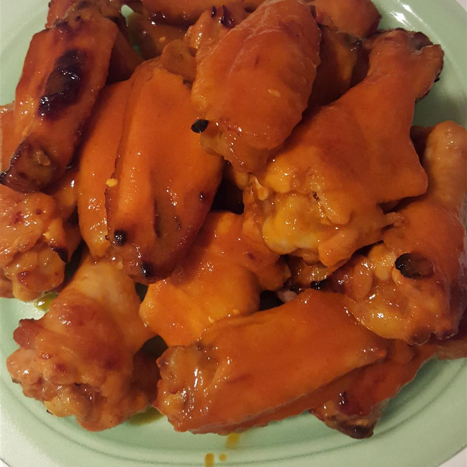 Spicy Tequila Sunrise Chicken Wings Anthony Lopez