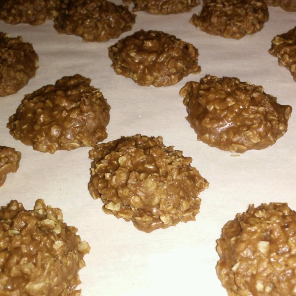 Cinnamon Nutella® No-Bake Cookies Katie Wynkoop