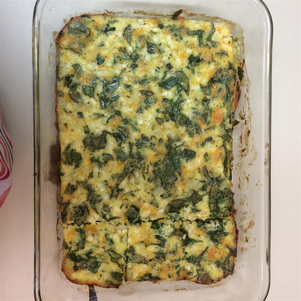 Egg and Spinach Casserole Lauren