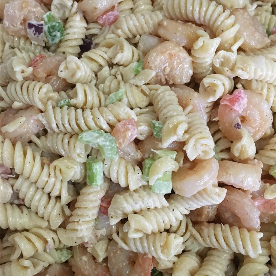 Simple Shrimp Pasta Salad shayna