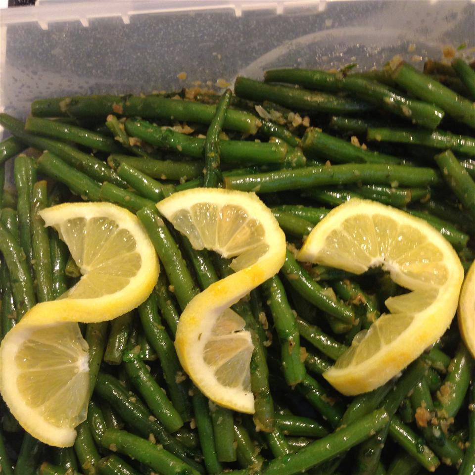 Lemon-Parsley Green Beans Tracee Collins