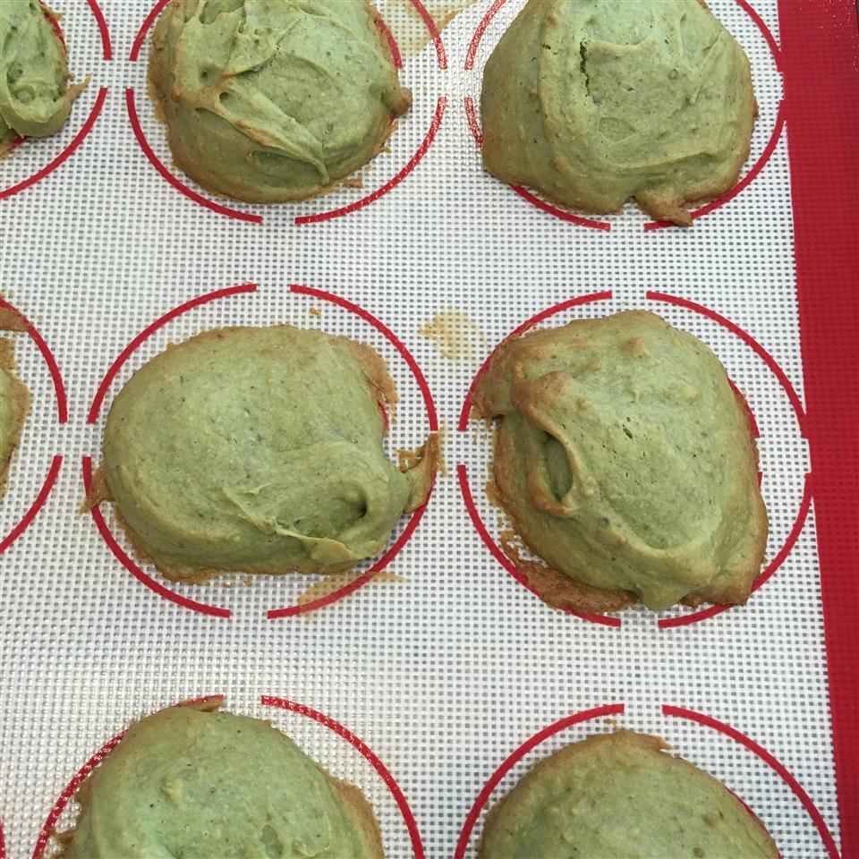 Saint Patrick's Pistachio Cookies Millie Gibson