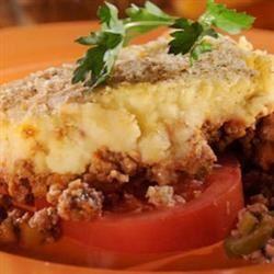 Chilean Potato Pie (Pastel de Papas) Cucina di papa