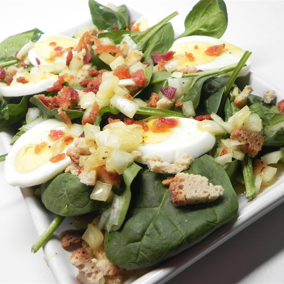 Tangy Spinach Salad