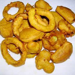 Crispy Vegetable Pakoras Jackie C.