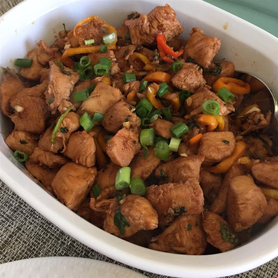 Spicy Caramel Chicken PIZZAMYHEART