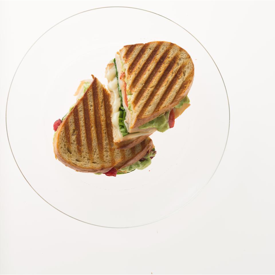Turkey Avocado Panini Allrecipes Magazine