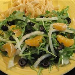 Arugula, Fennel, and Orange Salad Diane442