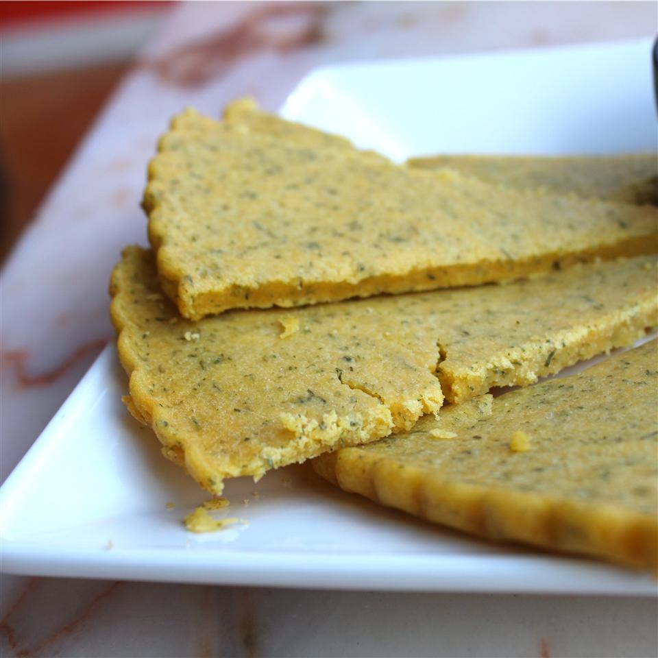 Gluten-Free Parmesan Dill Flatbread