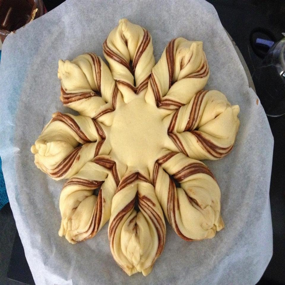 Cookie Butter Brioche Star