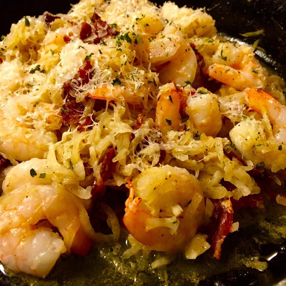 Zucchini Noodle Shrimp Scampi Carol Castellucci Miller