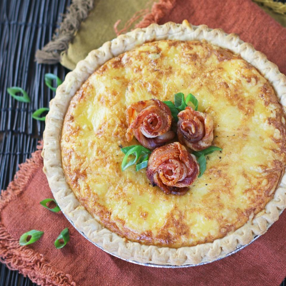 Bacon Rose Quiche Culinary Envy