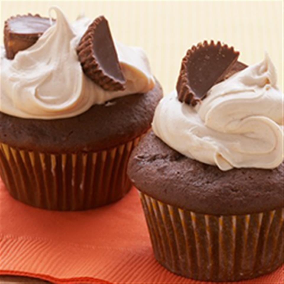 Chocolate Peanut Butter Cupcakes Trusted Brands