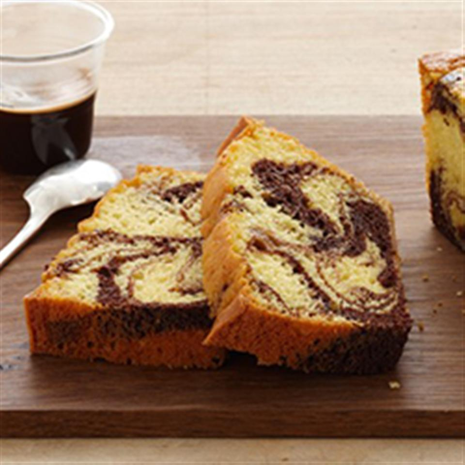 Fudge Marble Pound Cake Trusted Brands