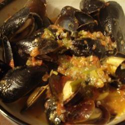 Patti's Mussels a la Mariniere CleFoodGoddess