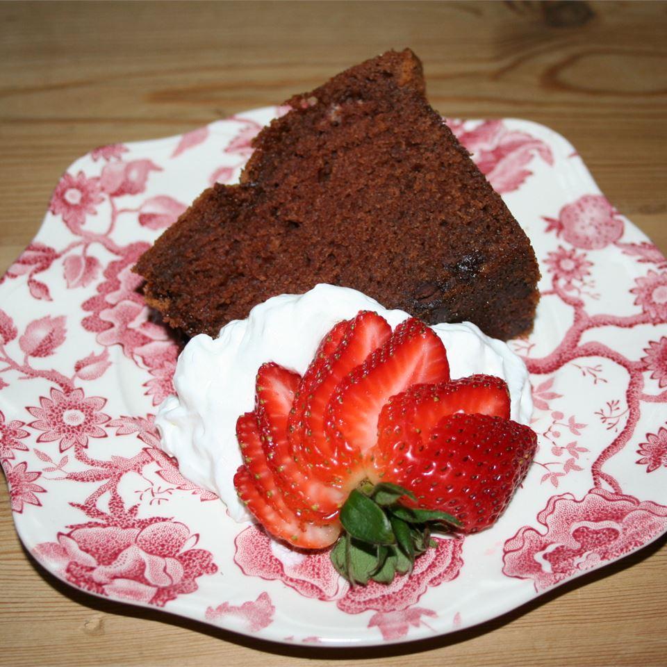 Richest Ever Chocolate Pound Cake Carol