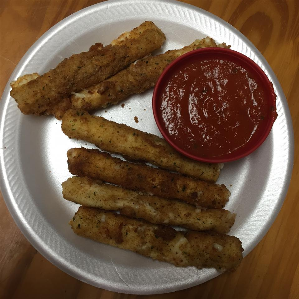 Fried Mozzarella Cheese Sticks Casey Hahn Bryant