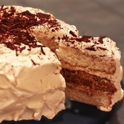 Tiramisu Layer Cake Molly