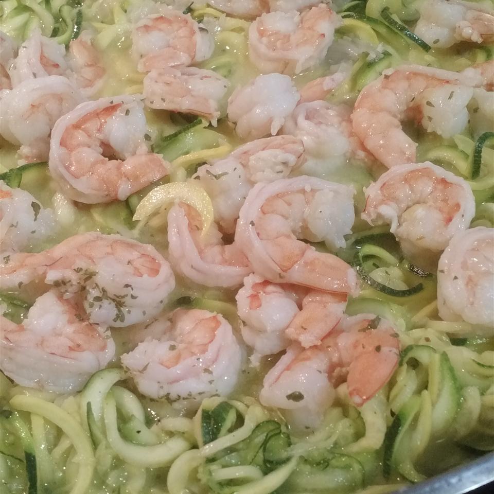 Zucchini Noodle Shrimp Scampi MCabrera75