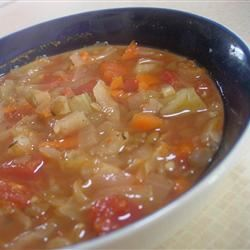 Winter Lentil Vegetable Soup