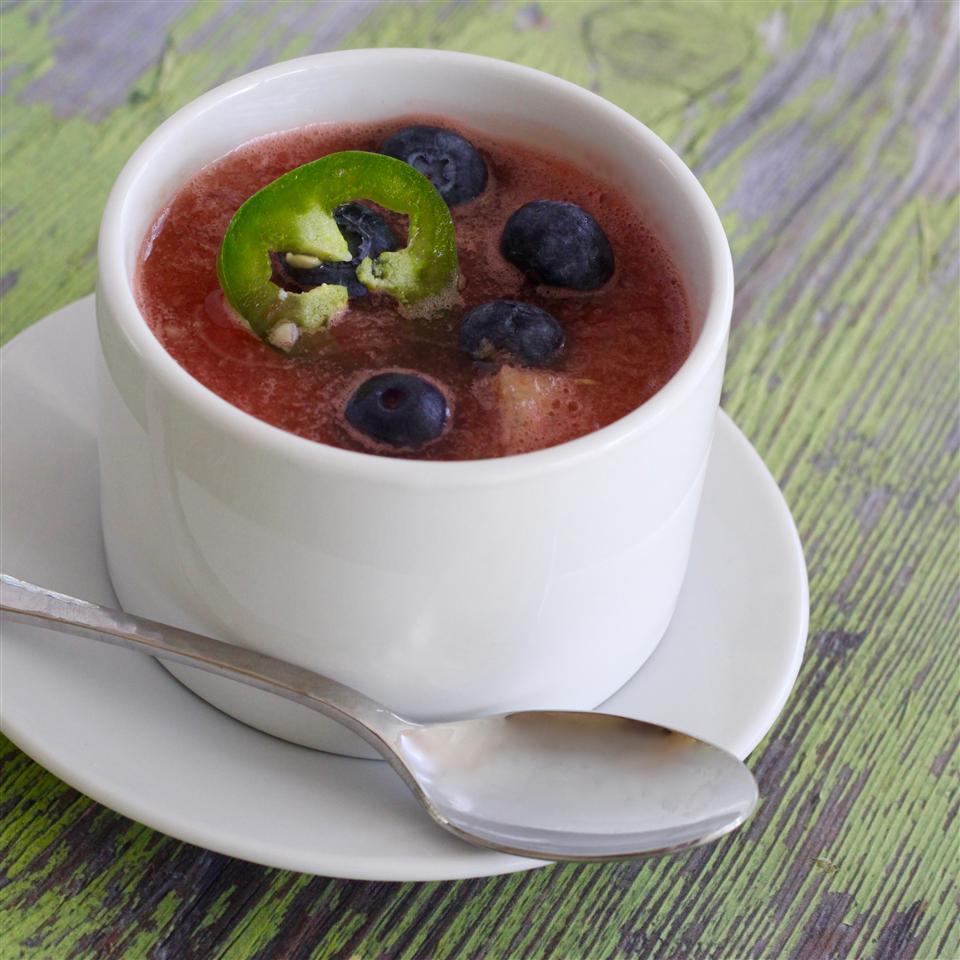Fresh Watermelon Gazpacho