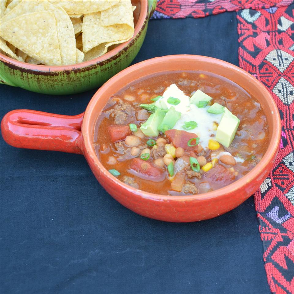 Busy Day Slow Cooker Taco Soup Lucinda