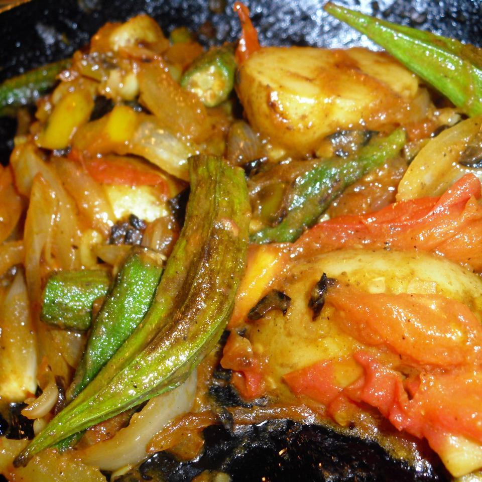 Chef Kiran's Okra Stir Fry Terry E.