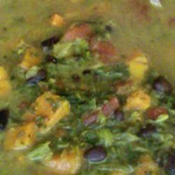 Traci B's Callaloo Soup Katherine