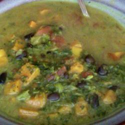 Traci B's Callaloo Soup Traci-in-Cali