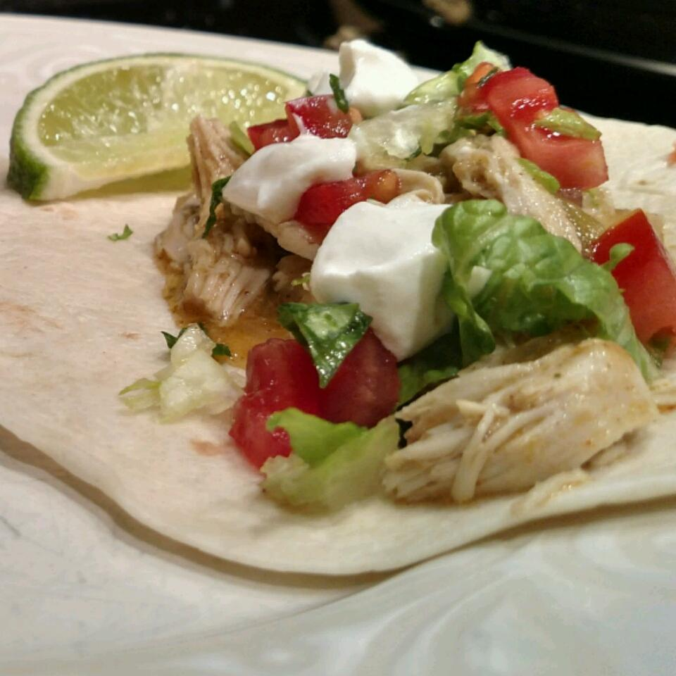 Beer-Braised Chicken Tacos adam mikesell