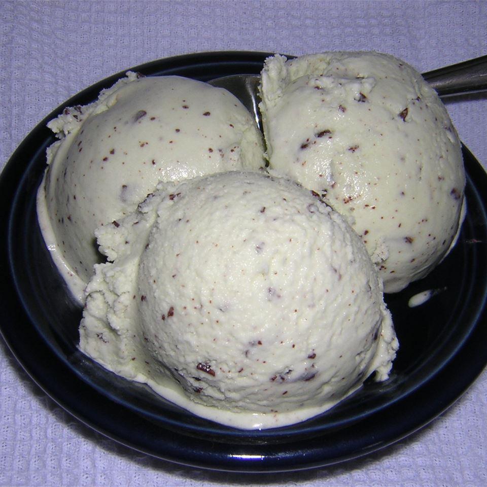 Easy Mint Chocolate Chip Ice Cream