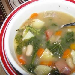 Savory Kale, Cannellini Bean, and Potato Soup Wyattdogster