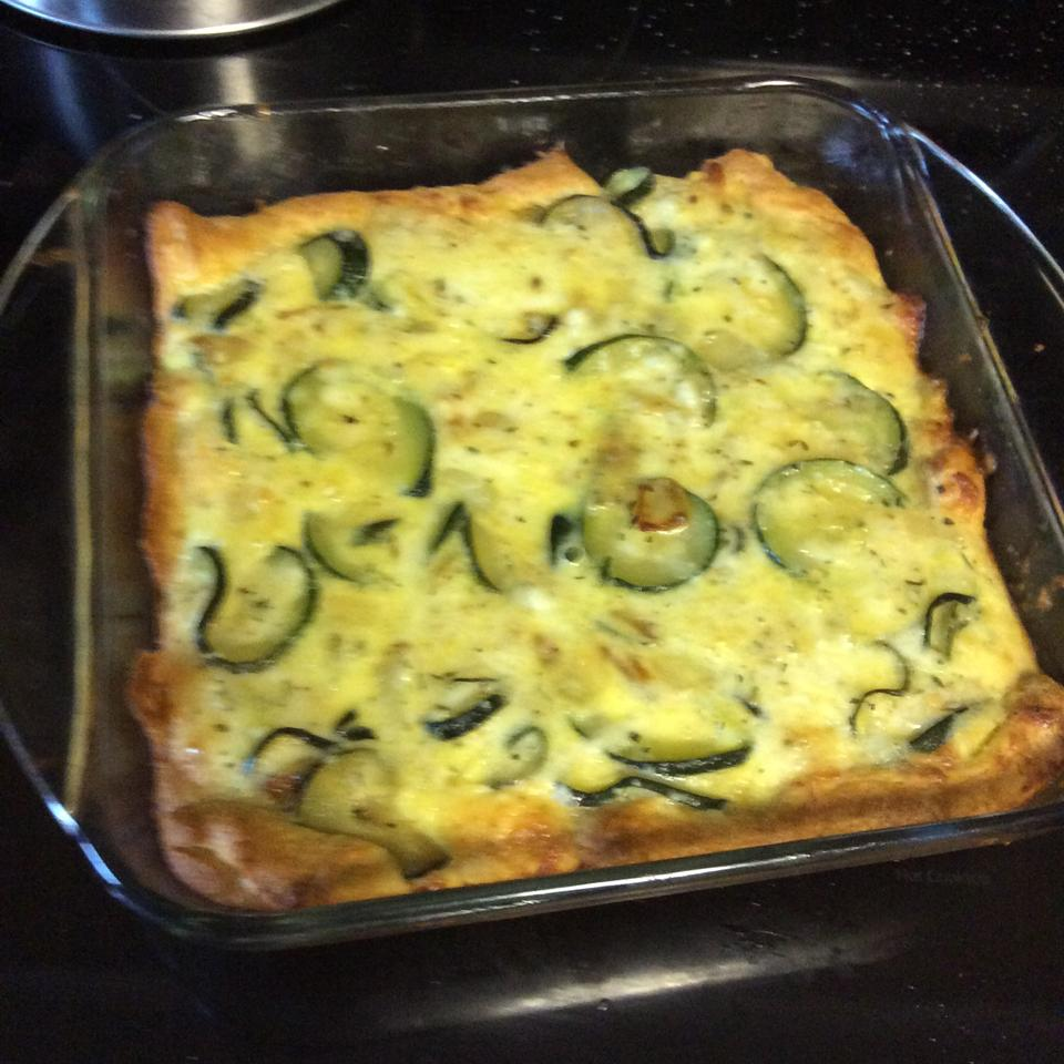Mom's Zucchini Pie Anita Tschischik Seaman