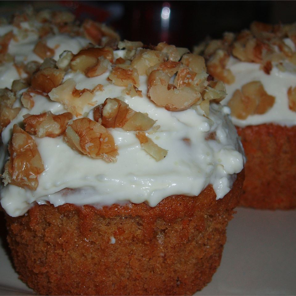 Maple Carrot Cupcakes