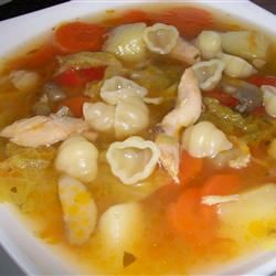 Hearty Chicken Vegetable Soup I Montana