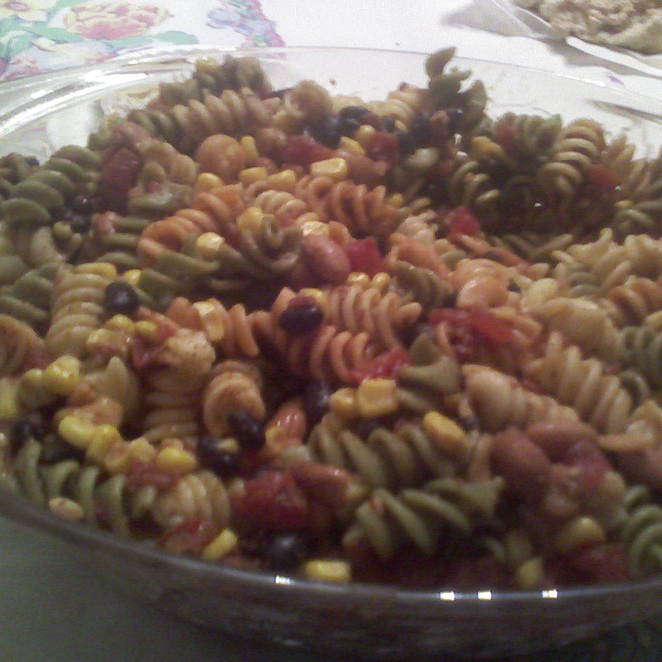 Zesty Southern Pasta and Bean Salad oojeamoeoo