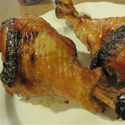 Grilled Turkey Legs IamPatSajak