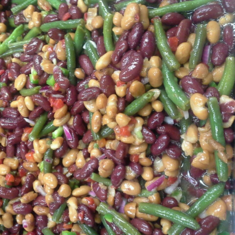 Traditional Three Bean Salad Kristina Lynn Campbell