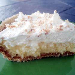 Light Coconut Pie Chelsey