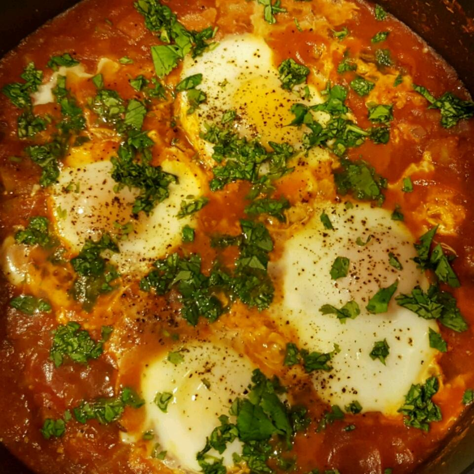 Shakshuka (Middle Eastern Breakfast Dish) George