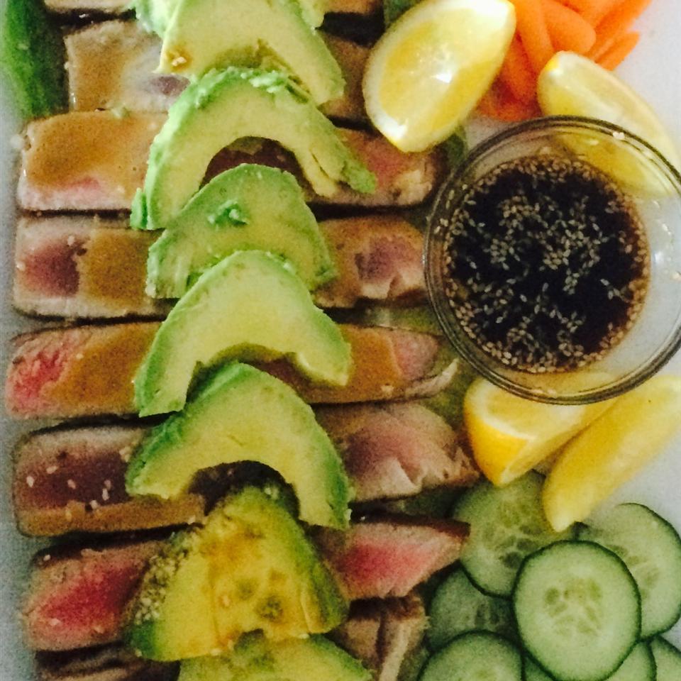 Wasabi Yellowfin Tuna