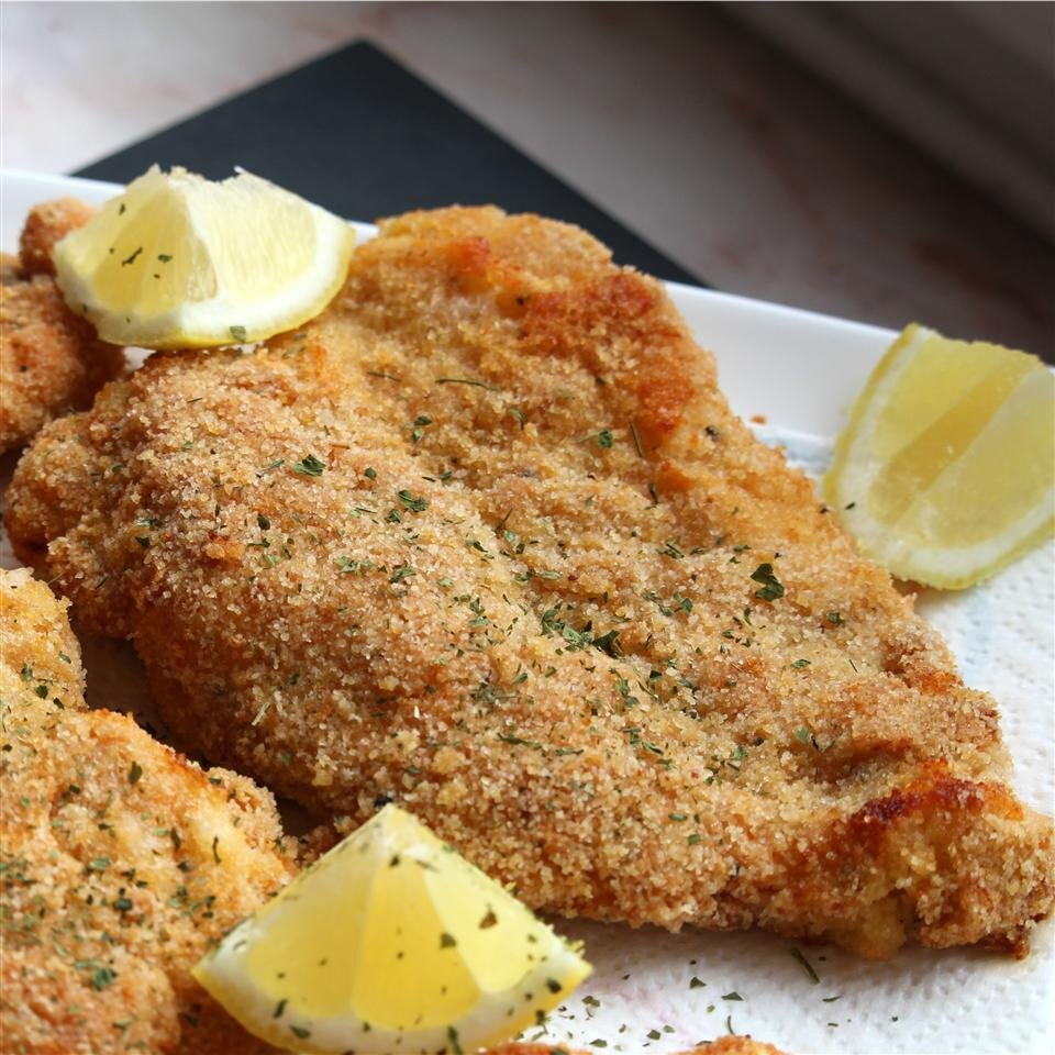 Baked Chicken Schnitzel Recipe Allrecipes